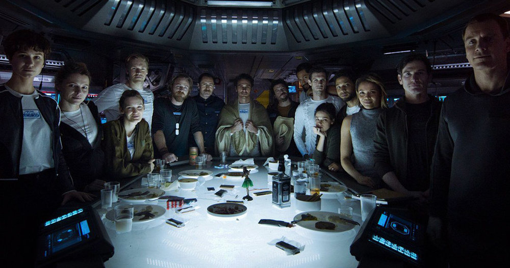Faces of doom: crew of the Covenant (Image: 20th Century Fox)