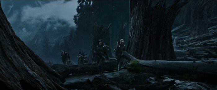 The captain and his expendable crew land on the Engineers' home planet (Image: 20th Century Fox)