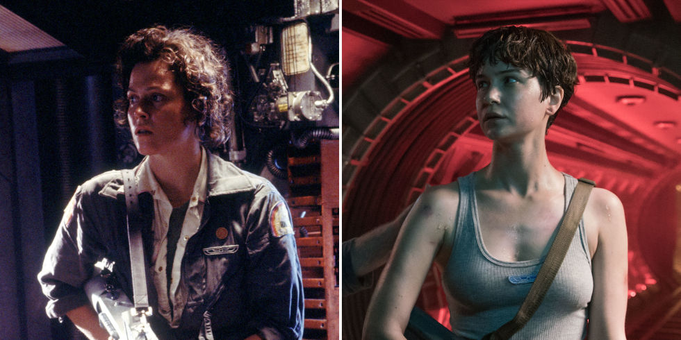 Sigourney Weaver's Ripley Vs. Katherine Waterston's Daniels (Image: 20th Century Fox)