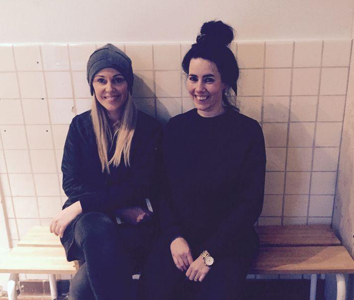 Elva Björk Barkardóttir og Rakel Garðarsdóttir - Verandi founders