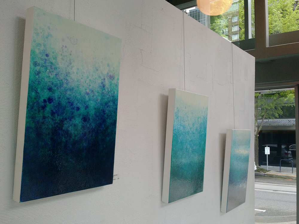 Infusion Series oil paintings - Gallery @ Hosmer