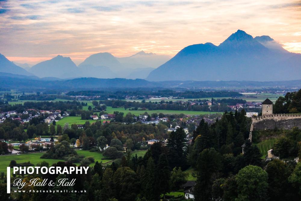 View towards Alps, Salzburg