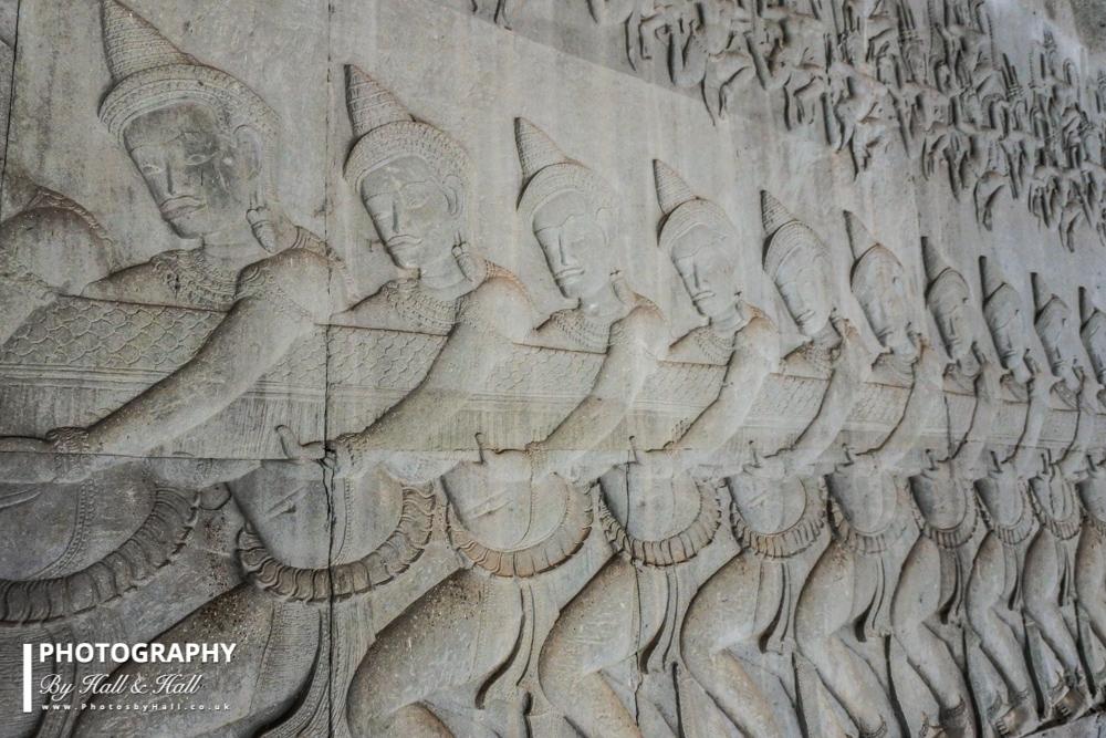 The Churning of the Ocean of Milk, Angkor Wat