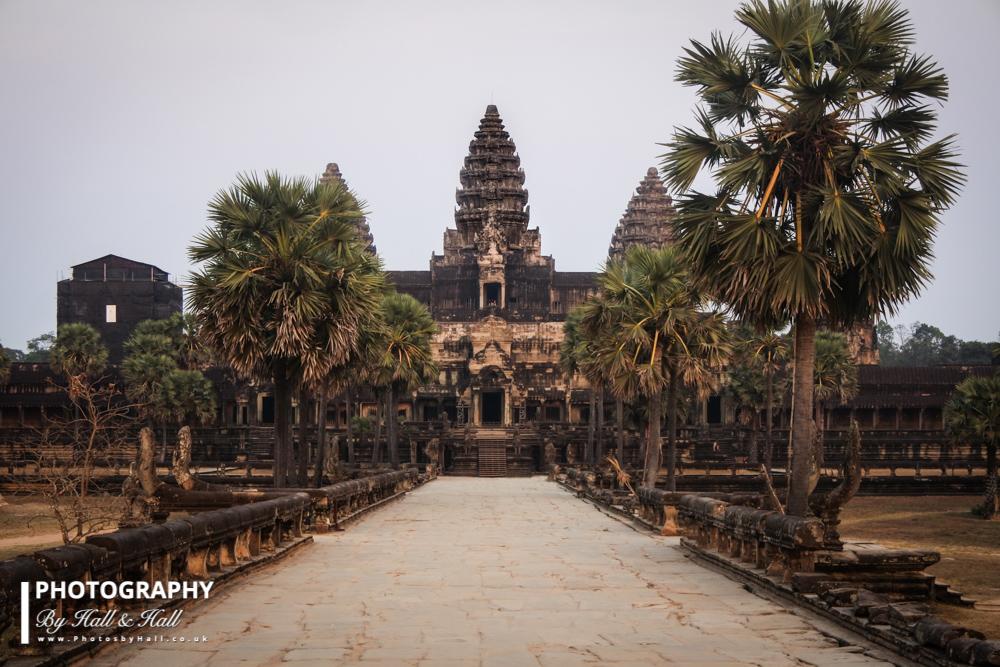 Angkor Wat, Main Walkway, Just before Sunset