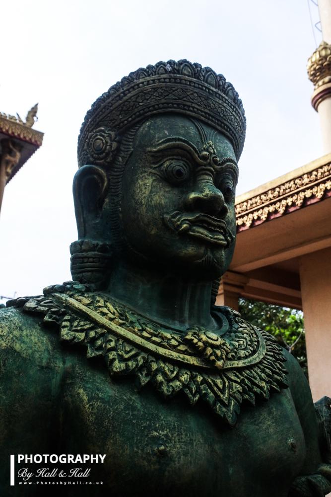 Temple Asura, near Phnom Penh