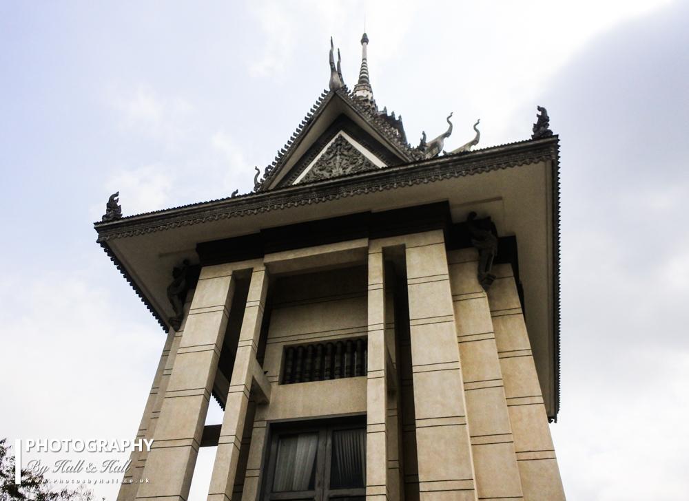 Memorial Stupa, The Killing Fields near Phnom Penh