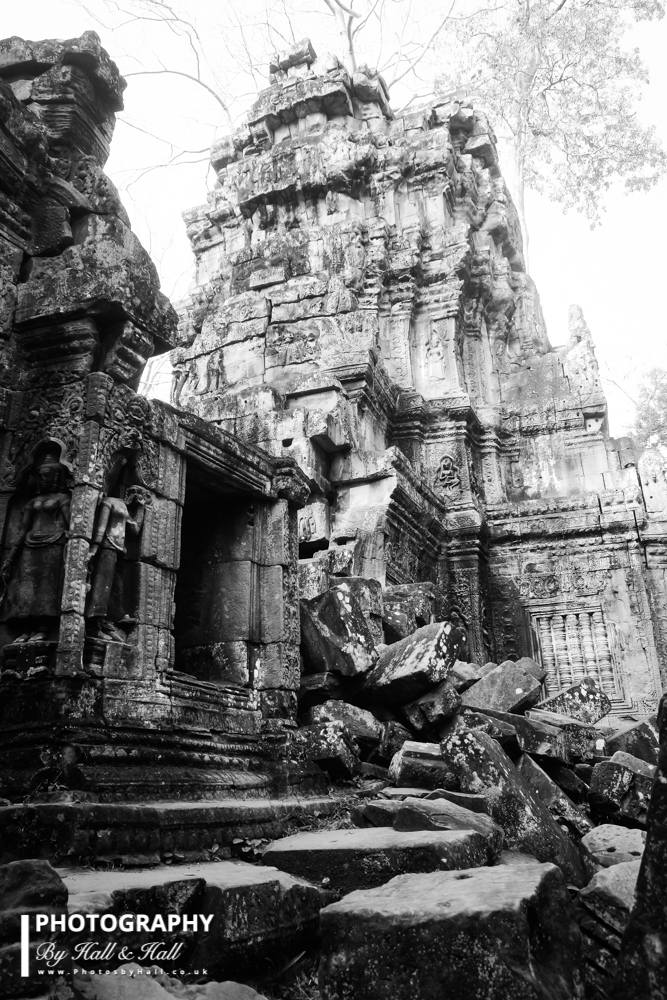 Partially Collapsed Temple, Greater Angkor Temples