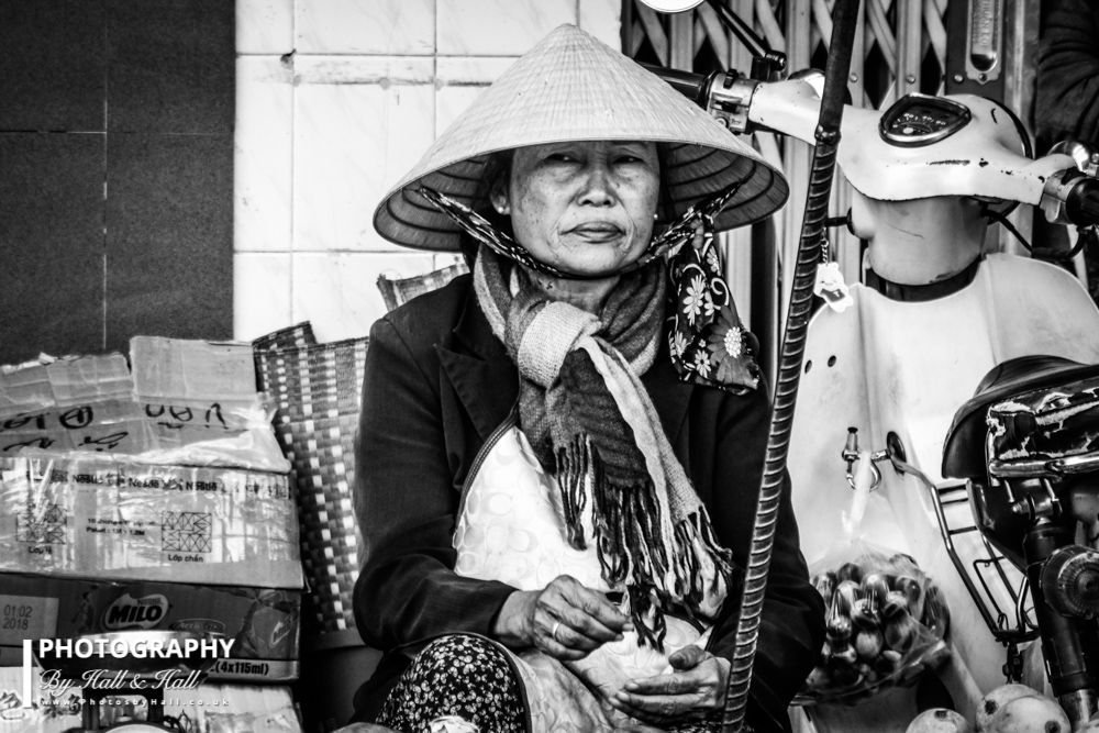 Market Seller, Dalat, Vietnam