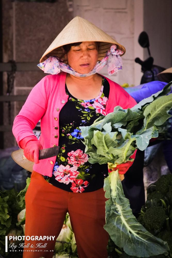 Market Seller 3, Hanoi, Vietnam