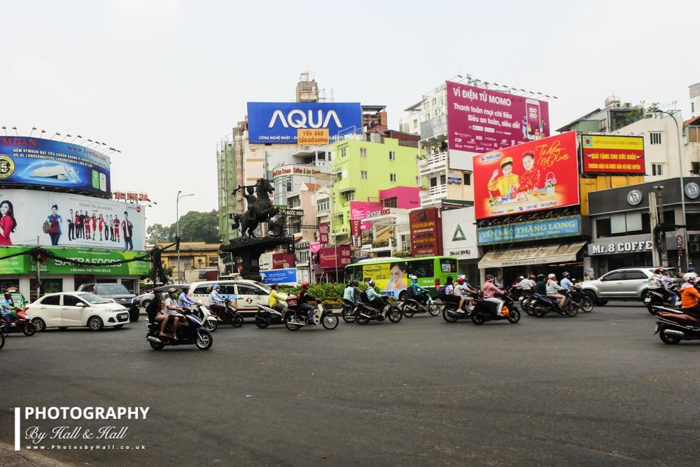 Downtown Ho Chi Minh City, Vietnam
