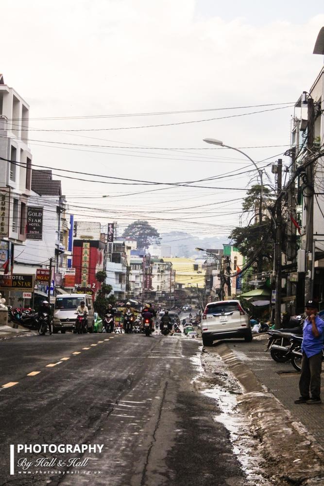 Downtown Dalat, Vietnam