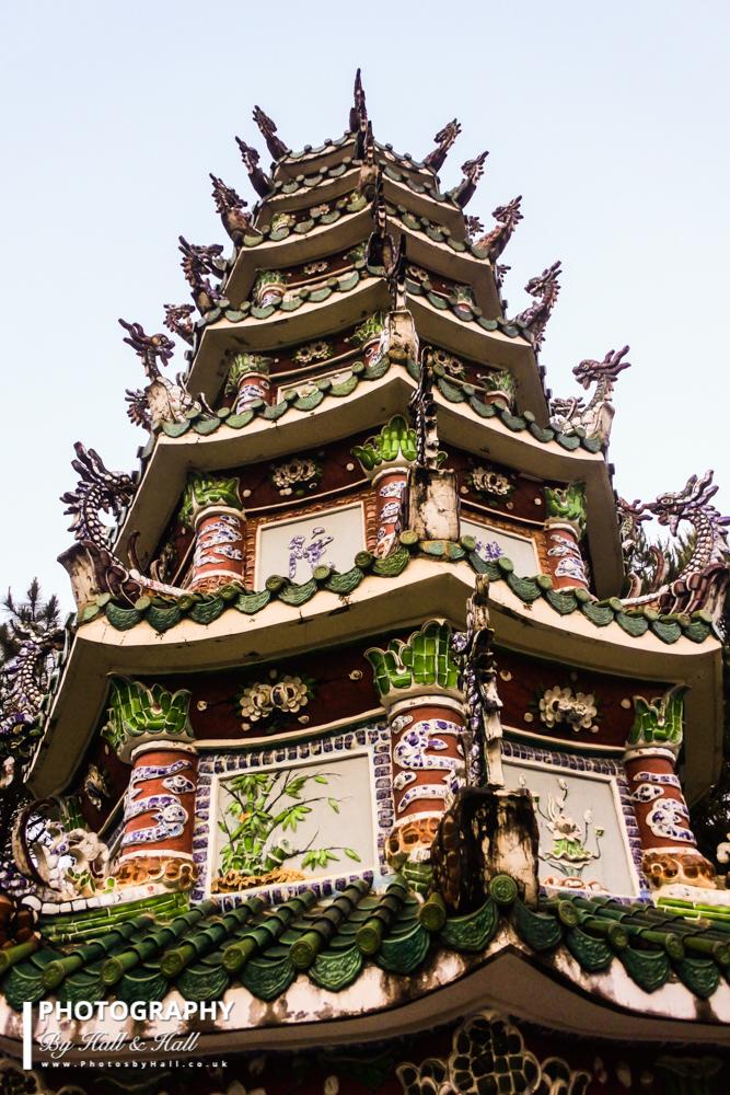 Pagoda, Dalat, Vietnam
