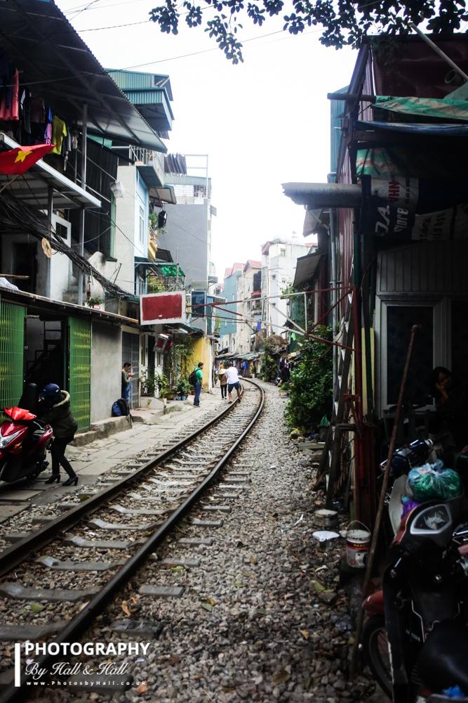 Disused Railway Line, Hanoi, Vietnam