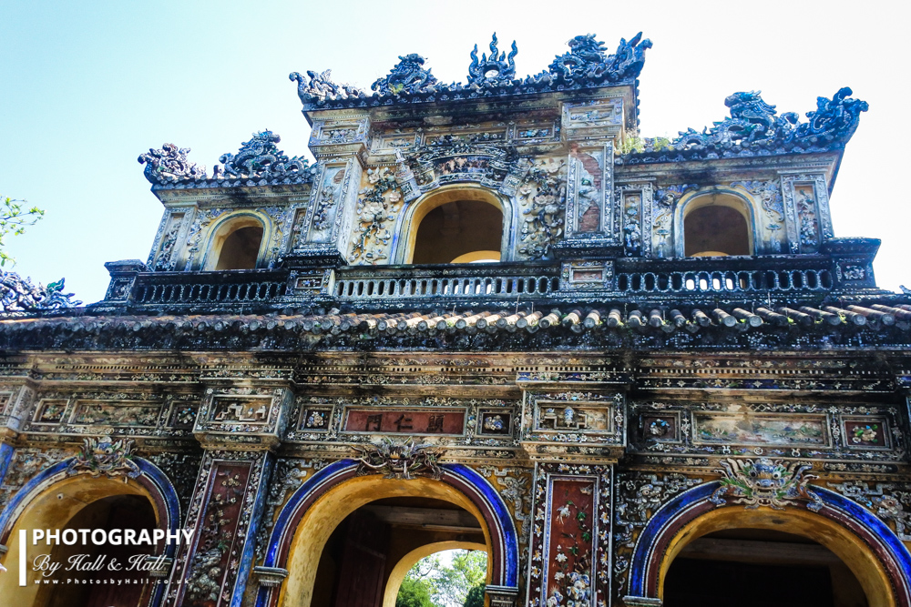 West Gate, Imperial City, Hue, Vietnam