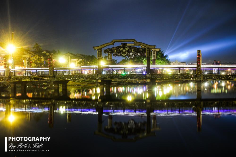 Long exposure of Bridge, Hoi An, Vietnam