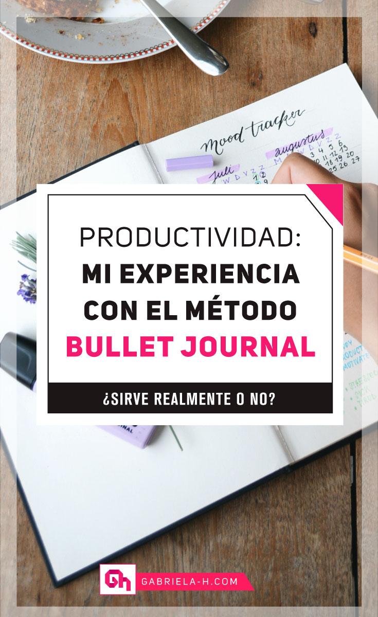 Mi experiencia con Bullet Journal: ¿Sirve realmente? #productividad #habitos #bulletjournalespañol #bujo #gabrielah