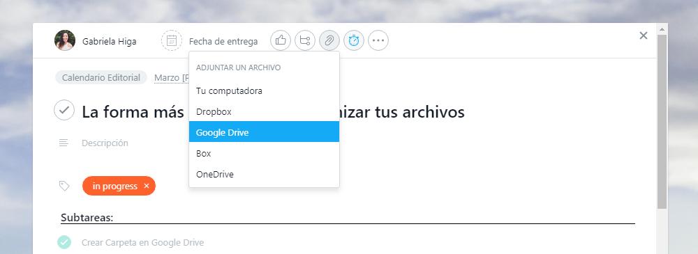 Aprovecha la función de Archivos Adjuntos en Asana para avanzar más rápido en tus proyectos.