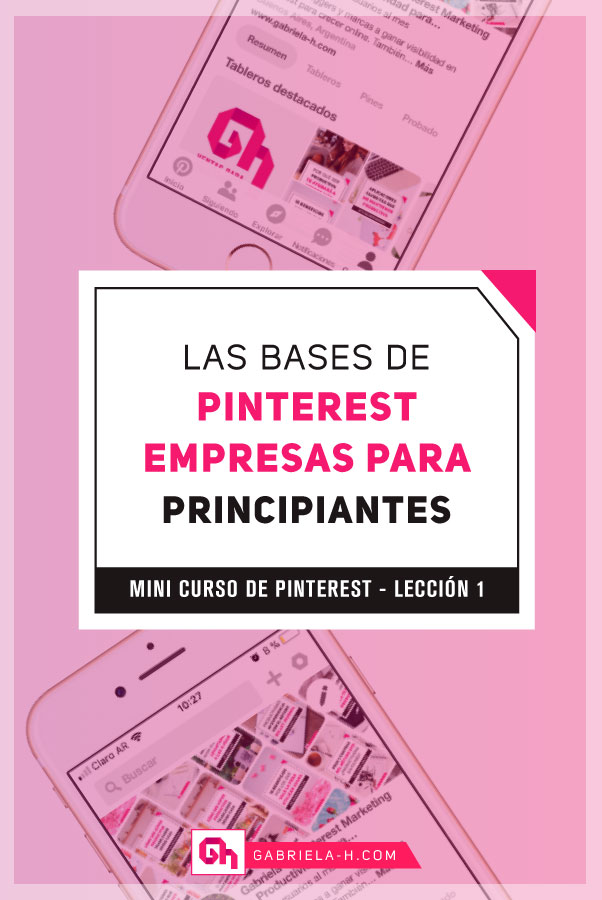 Mini curso de Pinterest para principiantes: las bases