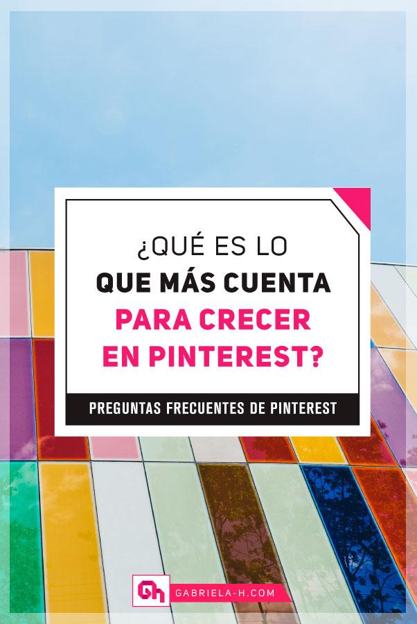 ¿Qué es lo más importante en Pinterest?
