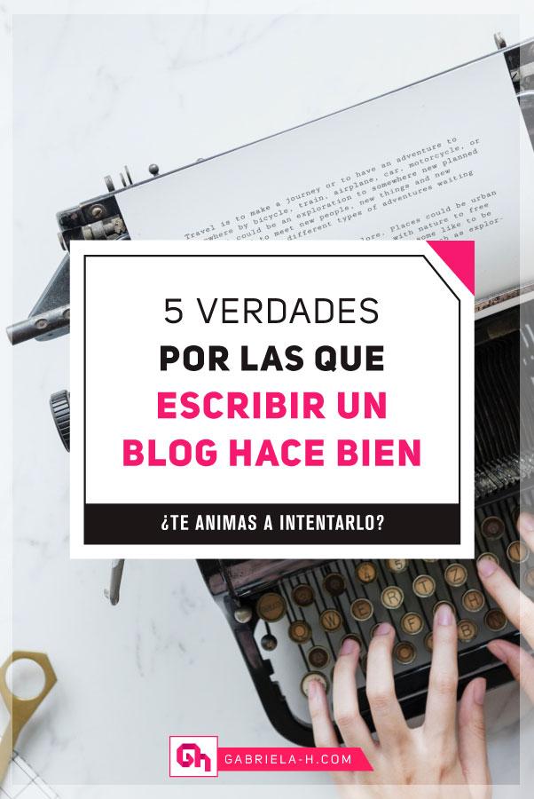 Descubre por qué deberías iniciar tu propio blog con estas verdades #bloguera #emprendedora #blogsenespañol #escribir #gabrielah