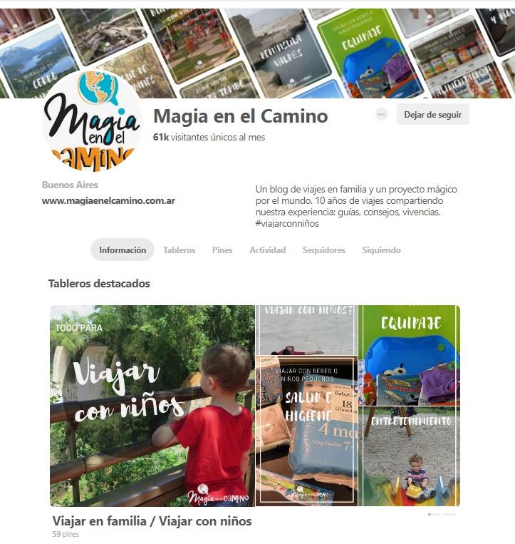 Visita el perfil de Pinterest de Magia en el Camino acá.