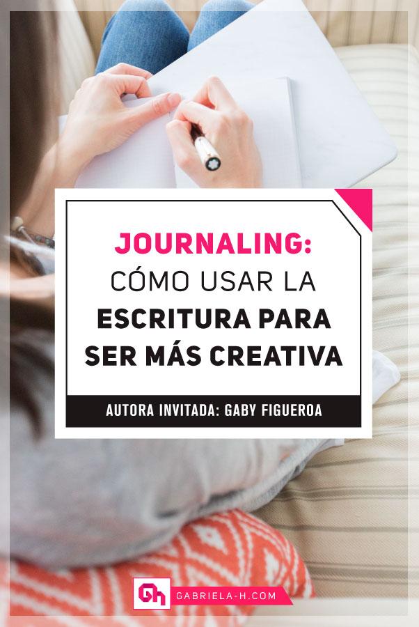 Journaling: Cómo usar la escritura para ser más creativa   #journaling #escrituraterapeutica #creatividad #desarrollopersonal