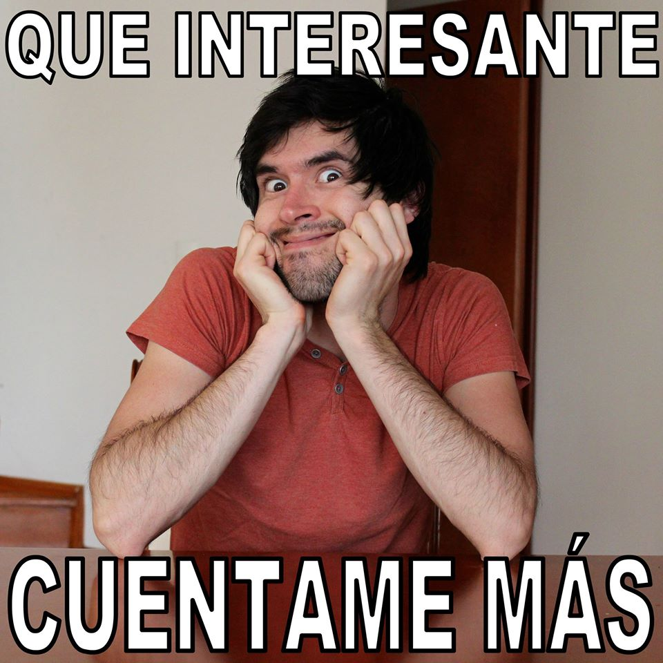 Que interesante German Garmendia