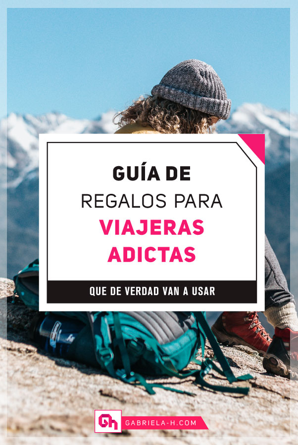 Ideas de Regalos para Mujeres que Aman Viajar #gabrielah #guiaderegalos #regalos #viajeras #viajar #navidad #travel