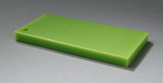 Duro-Glide® 675 GF Green  is a Premium UHMW Polymer. It has a molecular weight range of between 7 - 9 million.  It's enhanced with a glass filler, giving it great abrasion resistance and impact strength.       Download the datasheet  for this Duro-Glide® product.