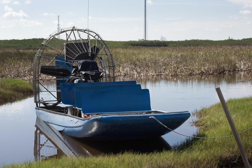 Gatorback airboat polymer