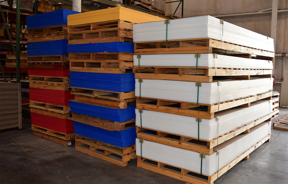 uhmw sheets on palettes