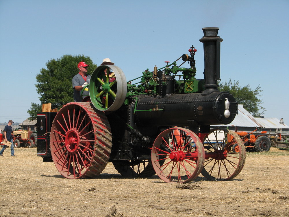 CASE 40 STEAM ENGINE