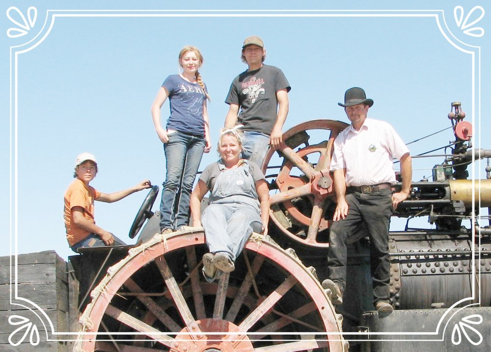 SIEWERTS AND THEIR AMAZING RUMELY