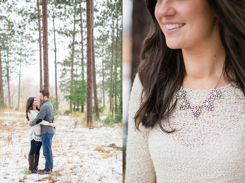 Rochelle Louise Photography, tree farm engagement session, Minneapolis wedding photographer, fine art wedding photographer