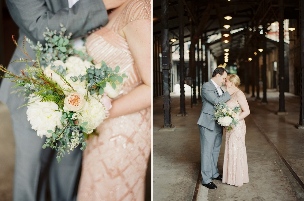 Rochelle Louise Photography, blush wedding, industrial wedding