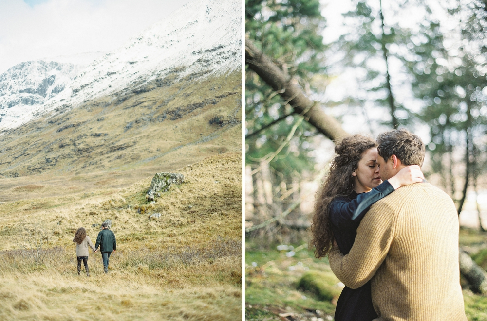 Scotland engagement session, Rochelle Louise Photography, UK engagement session, destination wedding photographer, Scottish Highlands, Glencoe