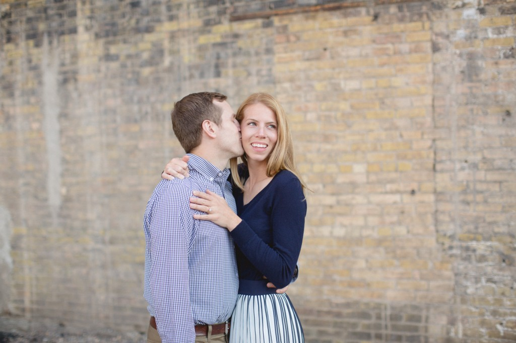 Minneapolis engagement session, summer engagement session, sunny engagement session, J Crew style, J Crew engagement session, pleated skirt, stylish engagement session, Rochelle Louise Photography, Minneapolis wedding photographer