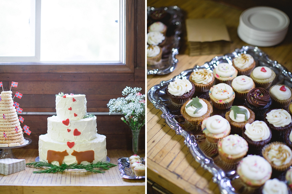 Grand Forks farm wedding, Rochelle Louise Photography, Sadie's Couture Floral, midwest farm wedding, midwest wedding, north dakota wedding photographer, north dakota wedding, fine art wedding photographer, My Name is Yeh wedding cake