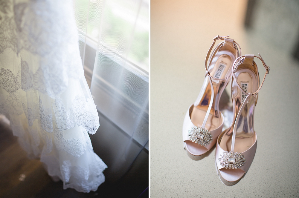 Badgley Mischka wedding shoes, , Rochelle Louise Photography