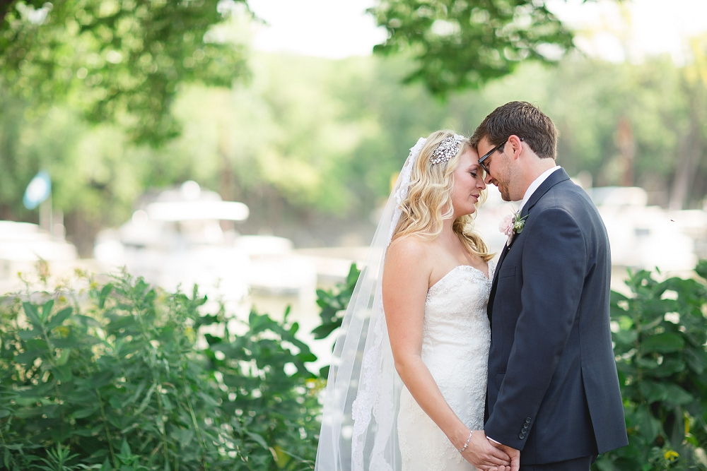 tender moment between bride and groom, , Rochelle Louise Photography