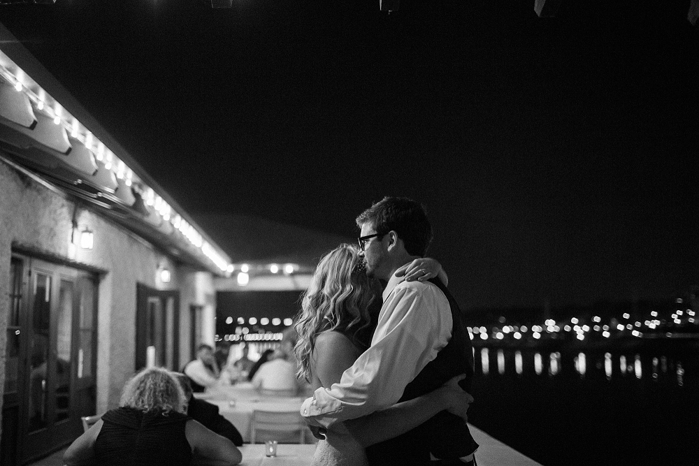 night shot of bride and groom, night wedding photo, Rochelle Louise Photography