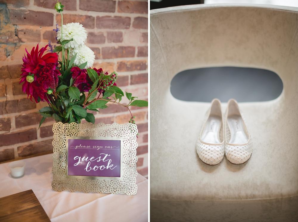 Rochelle Louise Photographer, marsala wedding, fall wedding, outdoor wedding, Minnesota wedding photographer, Minneapolis wedding photographer, wedding details, wedding shoes