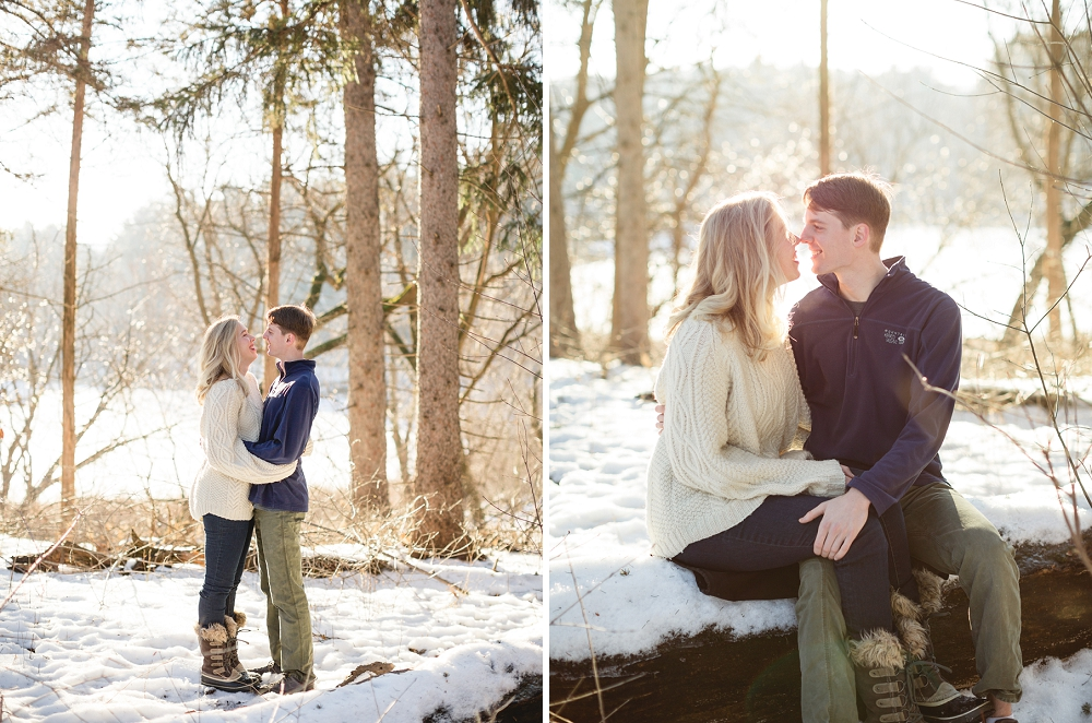 Rochelle Louise Photography, winter engagement session, Minneapolis wedding photographer