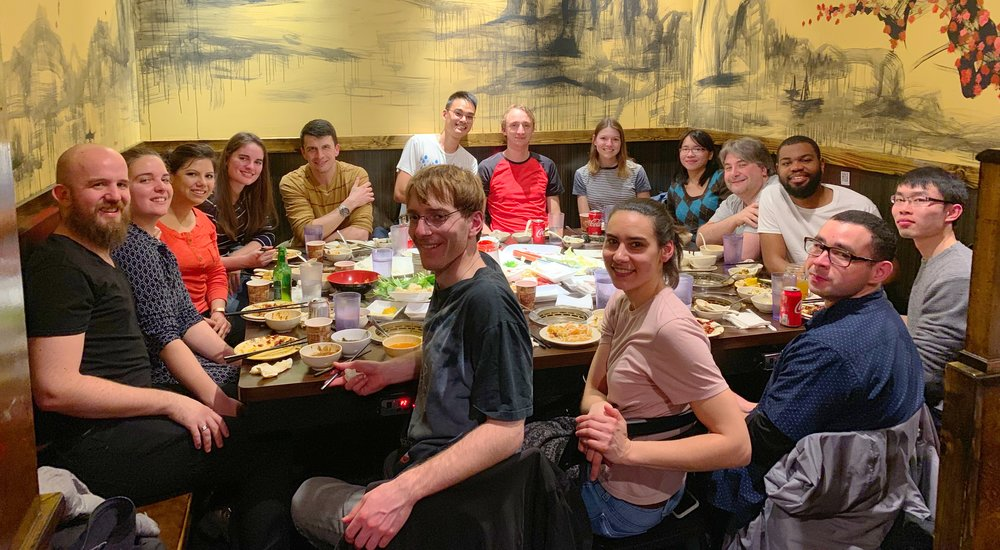 Hot pot dinner with KJ's lab