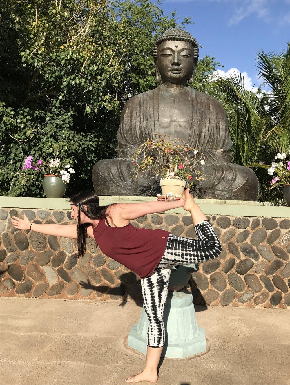 Buddha at Lahaina Jodo Mission on Maui
