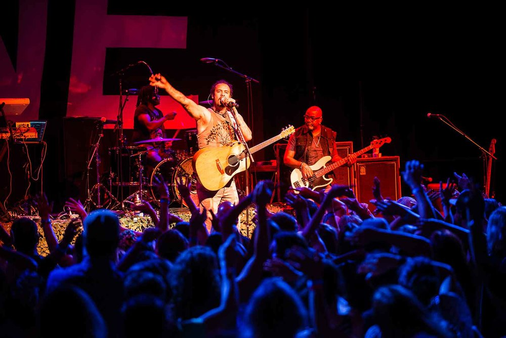 Michael Franti 8/11/15 Photo by Melissa Plantz