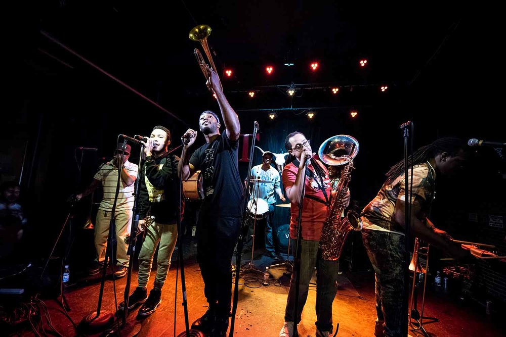 Rebirth Brass Band 6/30/17