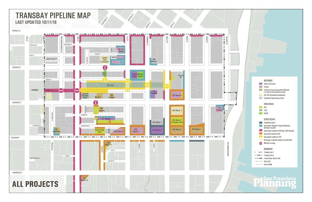 The south downtown area is experiencing a large wave of development by public and private sector actors. Our team created this map to track projects and stay organized.