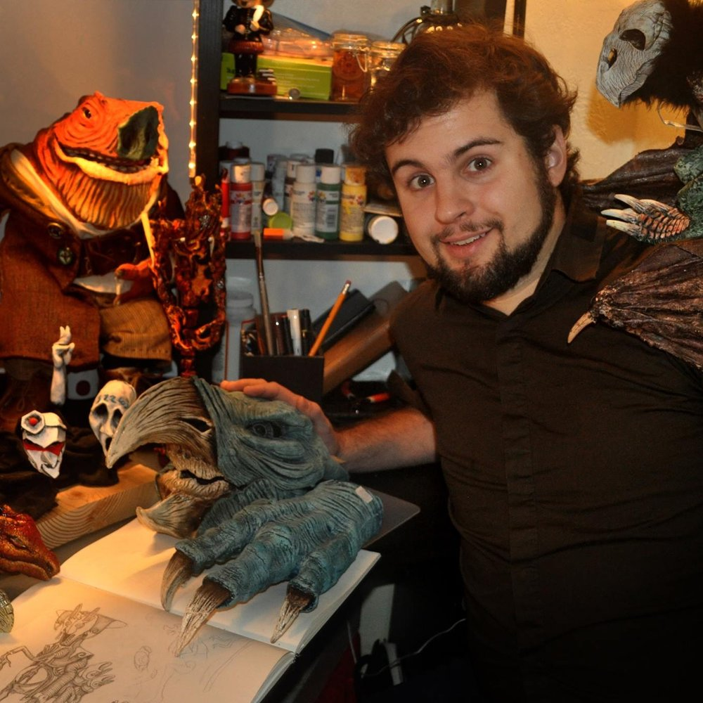 Robert Amico with Puppets.jpg