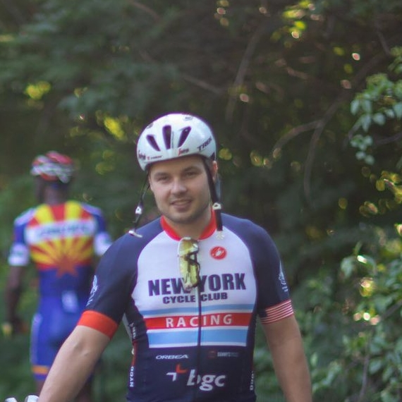 Roman Onosovski - Roman exhibits pure bipedal mastery with the speed of a leopard and spring of a puma. A founding member of the team, he had several wins in 2017 season, earning a spot in Cat 3.
